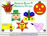 Math Geometric 2D Shape Activities Bundle 1
