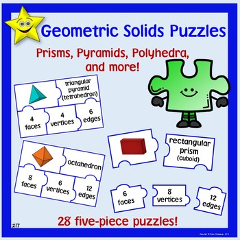 Geometric Solids Puzzles