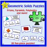 Geometric Solids Puzzles