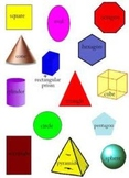Math - Geometric shapes worksheet