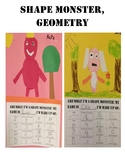 Math, Geometry, Art- Shape Monster