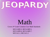 Math Geometry Jeopardy for 4th Grade Common Core Standards
