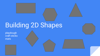 Math Geometry Station - Building 2D Shapes