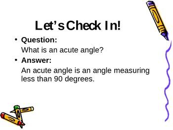 Math -  Geometry and Angles
