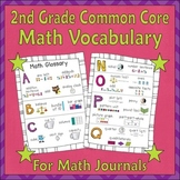 Math Glossary for Students (2nd Grade Common Core)