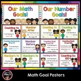 Math Goal Posters