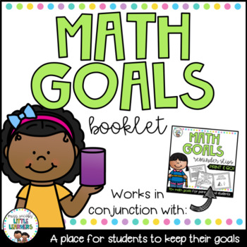 Math Goals Book