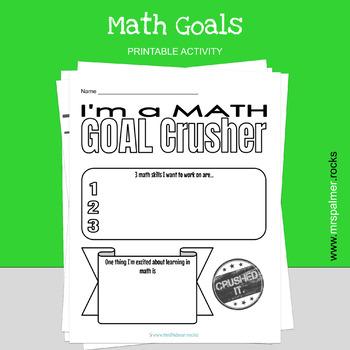 Math Goals - Classroom Activity