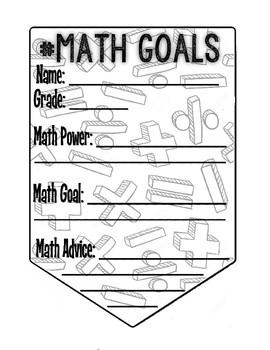 Math Goals Pennant
