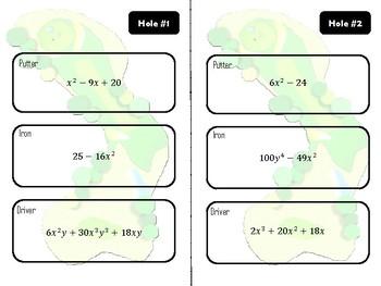 Math Golf: Factoring