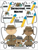 Math Google Slides Drag and Drop  Add Subtract Word Problems Money Even or Odd