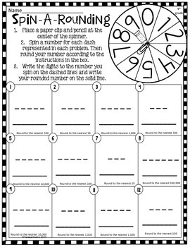 Math Grab and Go Centers: Place Value: CCSS 4th Grade and 5th Grade