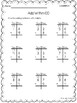 Math Grade 1 Common Core Practice Pages - SAMPLER