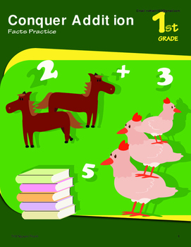 Math - Grade 1 - Full Curriculum - Conquer Addition Practice
