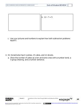 Math Grade 1 Module 2 Review