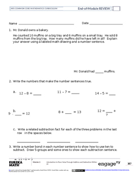 Math Grade 1 Module 2 Review
