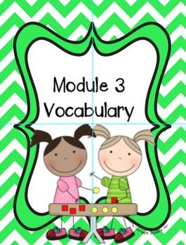 Math Grade 2 Module 3 Vocabulary