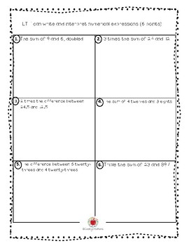 Math Grade 5 Module 2 Assessment (English)