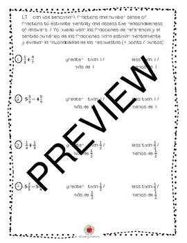 Math Grade 5 Module 3 Study Guide/Review Packet (BILINGUAL)