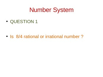 Math Grade 8 - Common Core Number Systems Practice Quiz