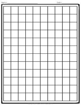 Math Graph Papers: 6 Designs (Use for Long Division, Subtraction & More!)