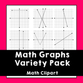 Math Graph Variety Clipart Pack