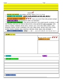 Math Graphic Organizer to support solving constructed resp
