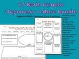 Math Graphic Organizers + More for the Common Core