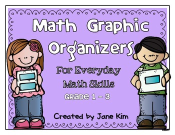Math Graphic Organizers~Grade 1-3