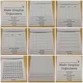 Math Graphic Organzier Flip Book