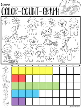 Color, Count, Graph All Year