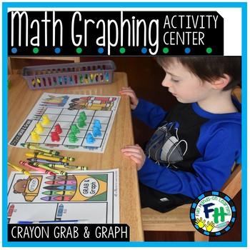 Math Graphing Center {Crayon Grab & Graph}