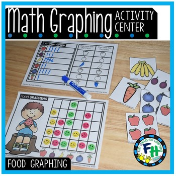 Math Graphing Center {Food Graphing}