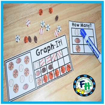 Math Graphing Center {Graph-It Cards}