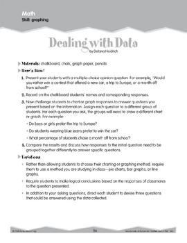 Math Graphing (Ten-Minute Activities)
