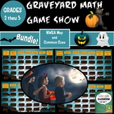 Math Graveyard Game Show Grades 2 Thru 5 for NWEA MAP and Common Core practice