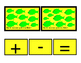 Math Green Fish How Many Addition Numbers To 10 Printable Cards Subtraction 3p
