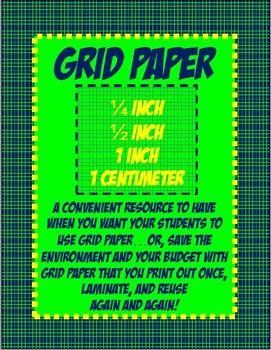 Math Grid Paper