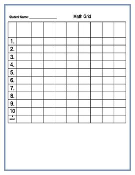 Math Grids