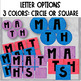 Math Group Center Labels // Editable