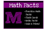 Math Group Descriptions