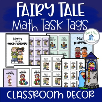 Math Group Posters Fairy Tale Theme
