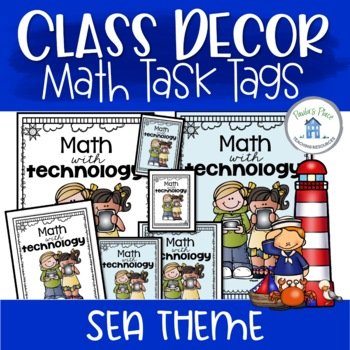 Math Group Posters Sea Theme
