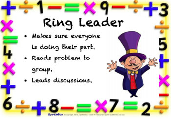 Math Group Roles