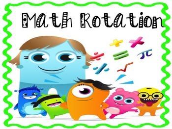Math Group Rotation - Class dojo
