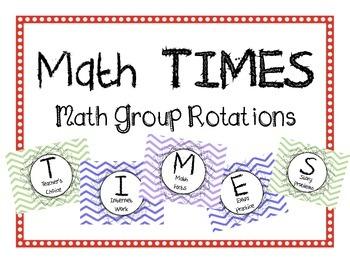 Math Group Rotations