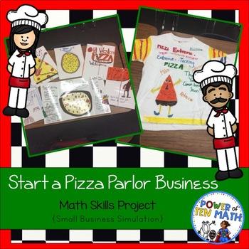 Math Group Simulation Project: Build a Pizza Parlor
