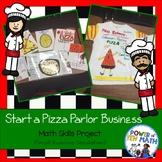 Start a business - Pizza Parlor {STEAM activities}