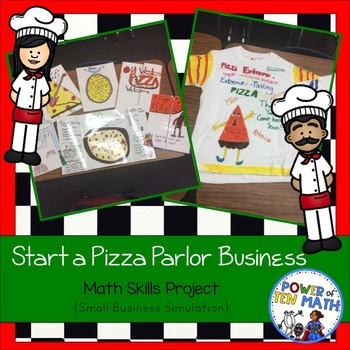 Start a business - Pizza Parlor {STEAM activities}