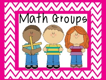 Math Groups (Kid Theme)